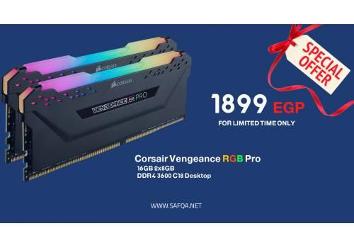 Corsair Vengeance RGB Pro 16GB 2x8GB DDR4 3600 C18