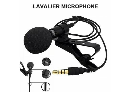 Lavalier microphone for lavalier 3.5 meters microphone works on Android and iPhone devices